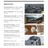 Davoser Revue – Ausgabe Pioniergeist, Inhaltsverzeichnis