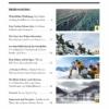 Davoser Revue – Ausgabe Schnee, Inhaltsverzeichnis