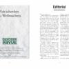 Davoser Revue – Ausgabe Schnee, Inhalt