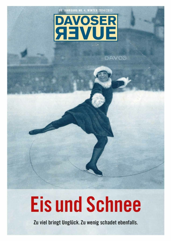 Davoser Revue – Ausgabe Schnee, Titelbild