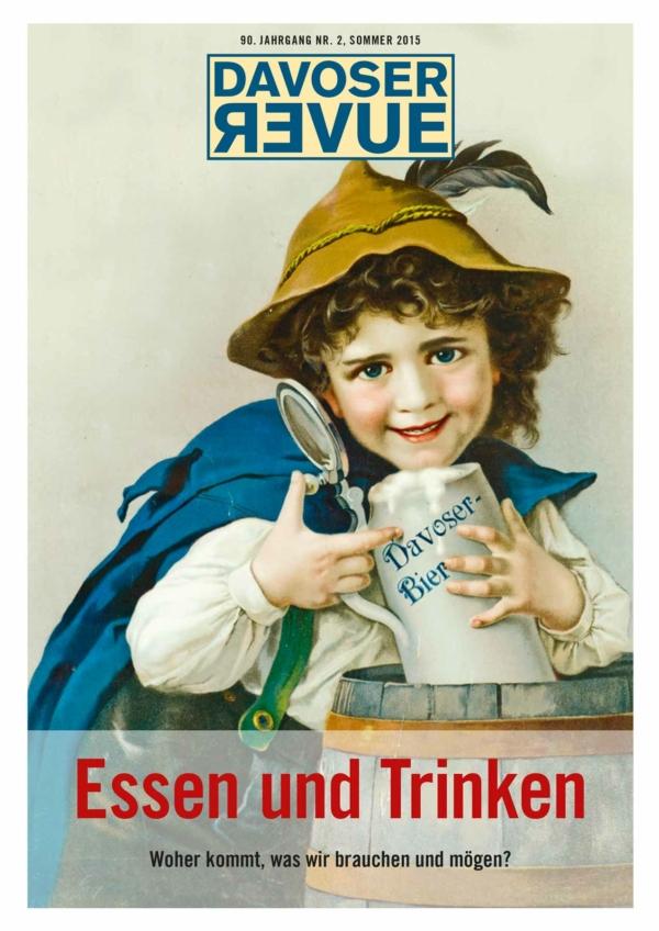 Davoser Revue – Ausgabe Essen, Titelbild