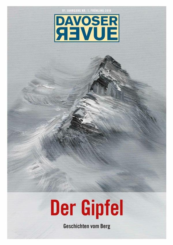 Davoser Revue – Ausgabe Gipfel, Titelbild
