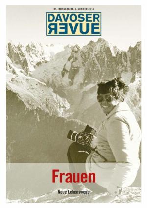 Davoser Revue – Ausgabe Frauen II, Titelbild