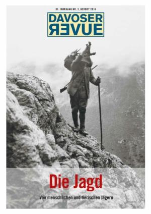 Davoser Revue – Ausgabe Jagd, Titelbild