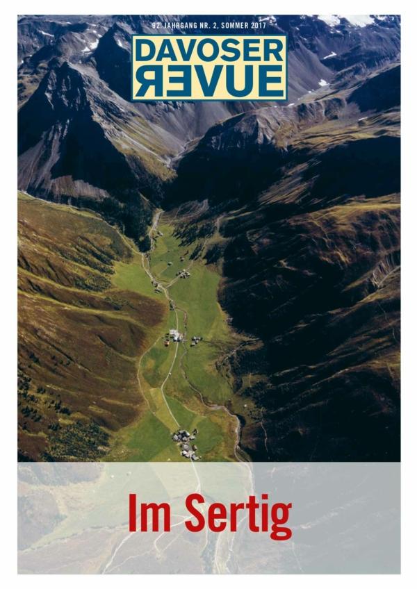 Davoser Revue – Ausgabe Sertig, Titelbild