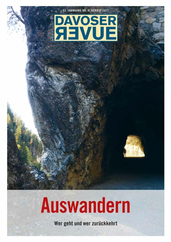 Davoser Revue – Ausgabe Auswandern, Titelbild