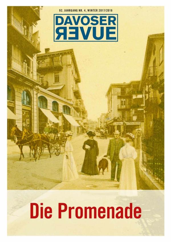 Davoser Revue – Ausgabe Promenade, Titelbild