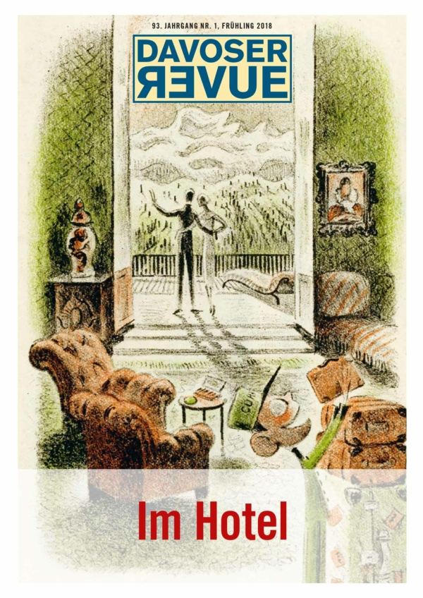 Davoser Revue – Ausgabe Hotel, Titelbild
