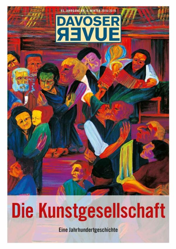 Davoser Revue – Ausgabe Kunstgesellschaft, Titelbild