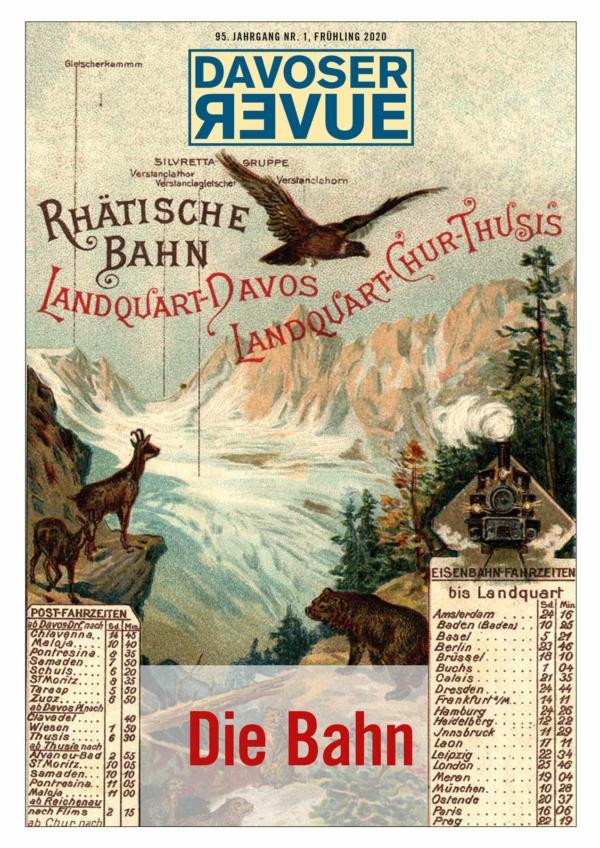 Davoser Revue – Ausgabe Eisenbahn, Titelbild