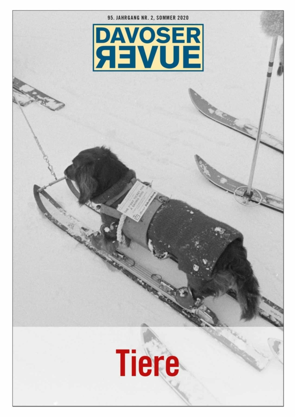 Davoser Revue – Ausgabe Tiere, Titelbild
