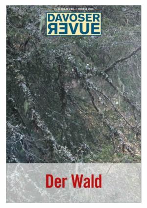 Davoser Revue – Ausgabe Wald, Titelbild