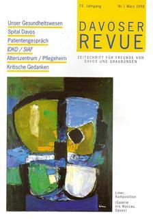 Davoser Revue – Ausgabe 1 1998, Titelbild