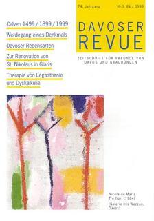 Davoser Revue – Ausgabe 1 1999, Titelbild