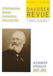 Davoser Revue – Ausgabe 1 2001, Titelbild