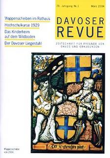 Davoser Revue – Ausgabe 1 2004, Titelbild