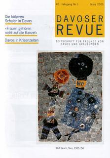 Davoser Revue – Ausgabe 1 2005, Titelbild