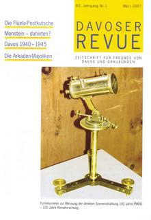 Davoser Revue – Ausgabe 1 2007, Titelbild