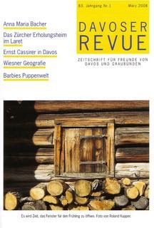 Davoser Revue – Ausgabe 1 2008, Titelbild