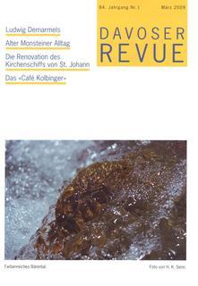 Davoser Revue – Ausgabe 1 2009, Titelbild