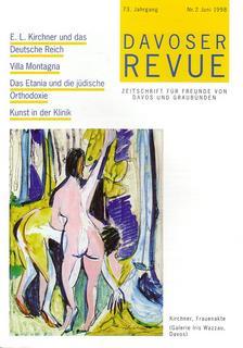 Davoser Revue – Ausgabe 2 1998, Titelbild