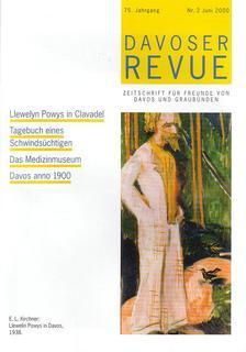 Davoser Revue – Ausgabe 2 2000, Titelbild