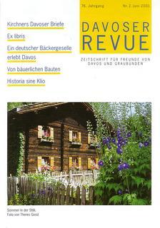 Davoser Revue – Ausgabe 2 2001, Titelbild