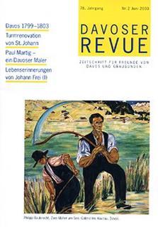 Davoser Revue – Ausgabe 2 2003, Titelbild
