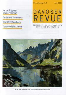Davoser Revue – Ausgabe 2 2005, Titelbild