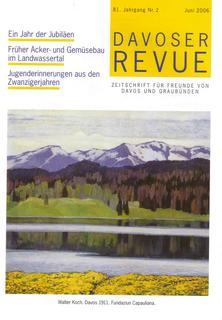 Davoser Revue – Ausgabe 2 2006, Titelbild