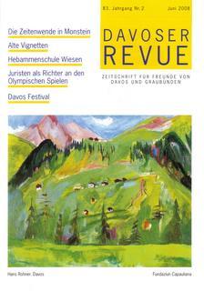 Davoser Revue – Ausgabe 2 2008, Titelbild