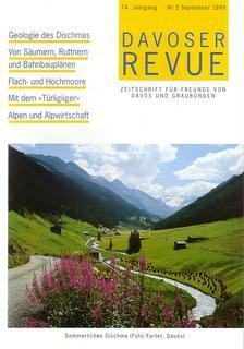 Davoser Revue – Ausgabe 3 1999, Titelbild