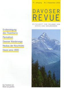 Davoser Revue – Ausgabe 3 2000, Titelbild