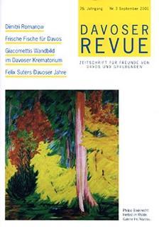 Davoser Revue – Ausgabe 3 2001, Titelbild