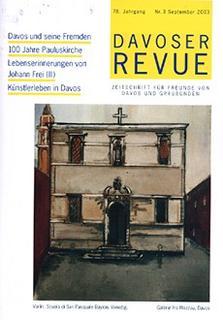 Davoser Revue – Ausgabe 3 2002, Titelbild