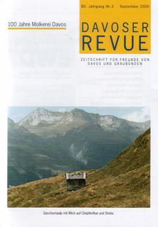 Davoser Revue – Ausgabe 3 2005, Titelbild