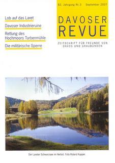 Davoser Revue – Ausgabe 3 2007, Titelbild