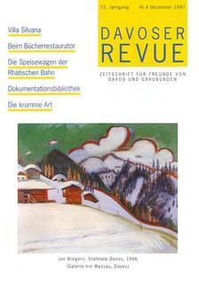 Davoser Revue – Ausgabe 4 1997, Titelbild