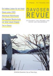 Davoser Revue – Ausgabe 4 2000, Titelbild