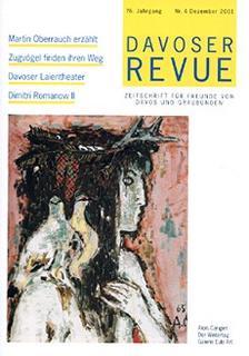 Davoser Revue – Ausgabe 4 2001, Titelbild