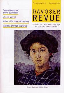 Davoser Revue – Ausgabe 4 2004, Titelbild