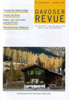 Davoser Revue – Ausgabe 4 2005, Titelbild