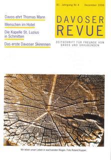 Davoser Revue – Ausgabe 4 2006, Titelbild