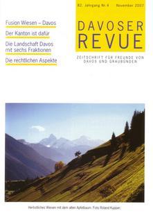 Davoser Revue – Ausgabe 4 2007, Titelbild