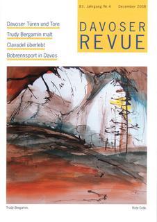 Davoser Revue – Ausgabe 4 2008, Titelbild