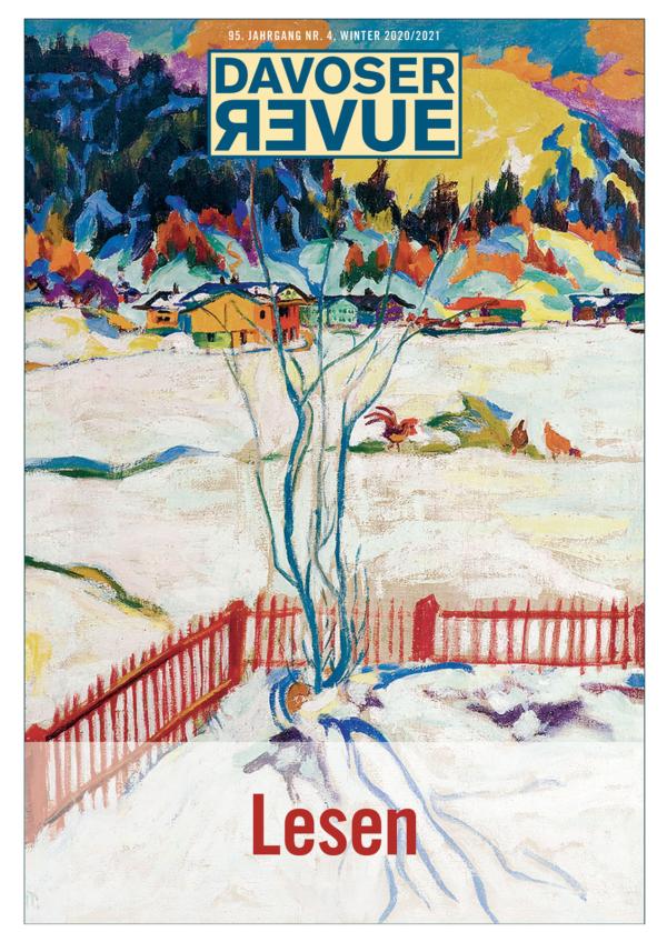 Davoser Revue – Ausgabe Lesen, Titelbild